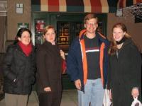 Melanie, Jen, Steve, and Melita