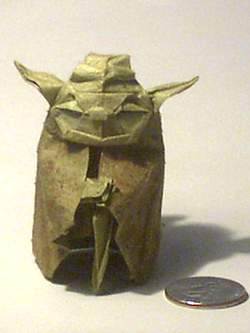 Yoda Origami