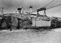 Nubble Lighthouse Tram in 1967